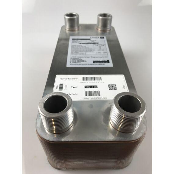 UNEX PBU 10-30 lemezes hőcserélő fűtésrendszerhez